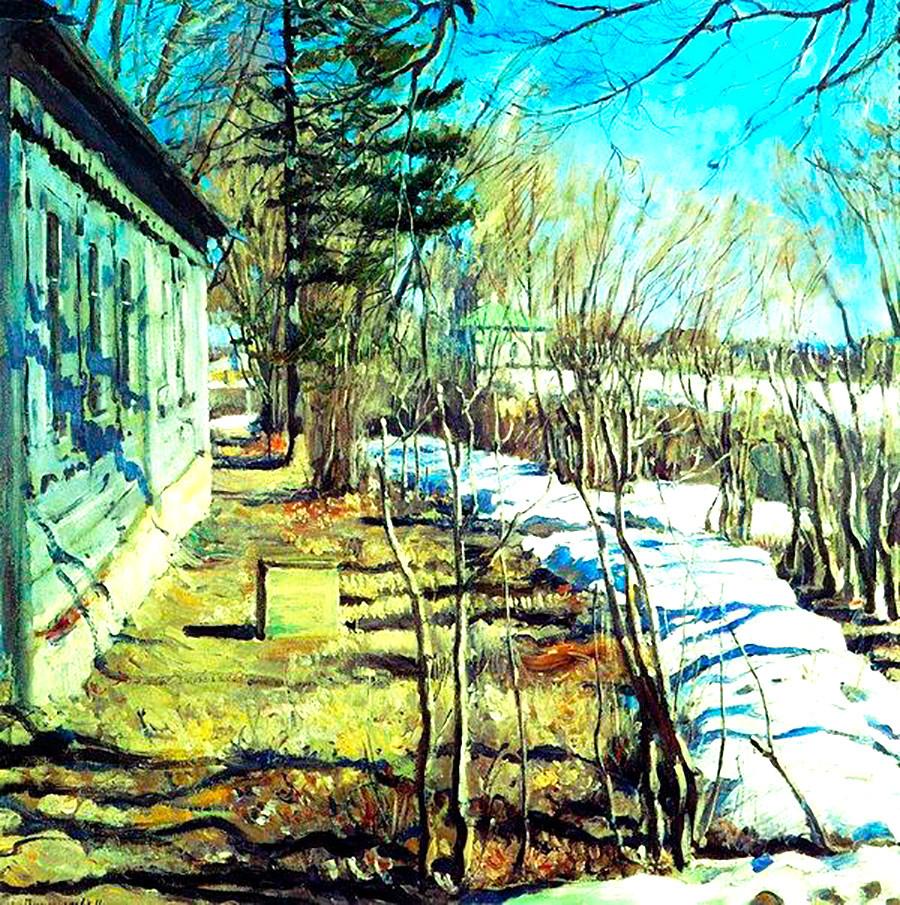Pomlad, 1911, Sergej Vinogradov