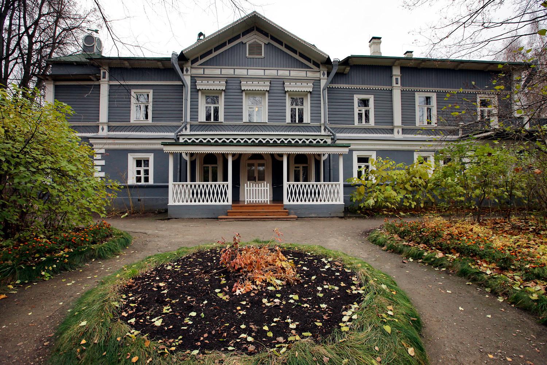 La casa-memoriale di Petr Chaikovskij