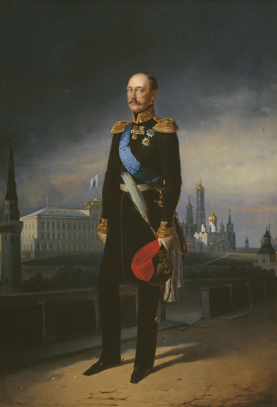 'Portrait of Nicholas I' by Egor Botman