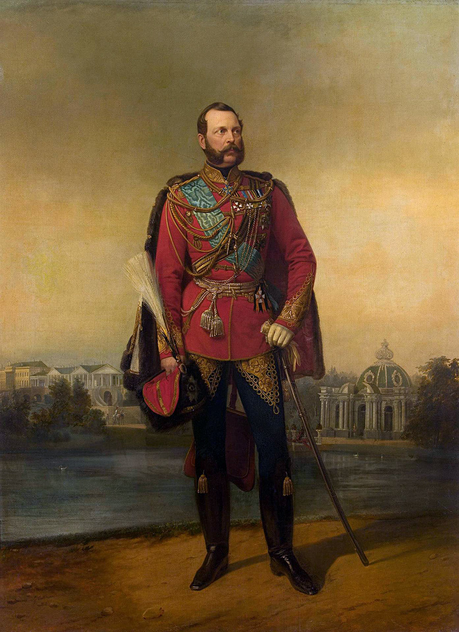 'Portrait of Alexander II' by Egor Botman