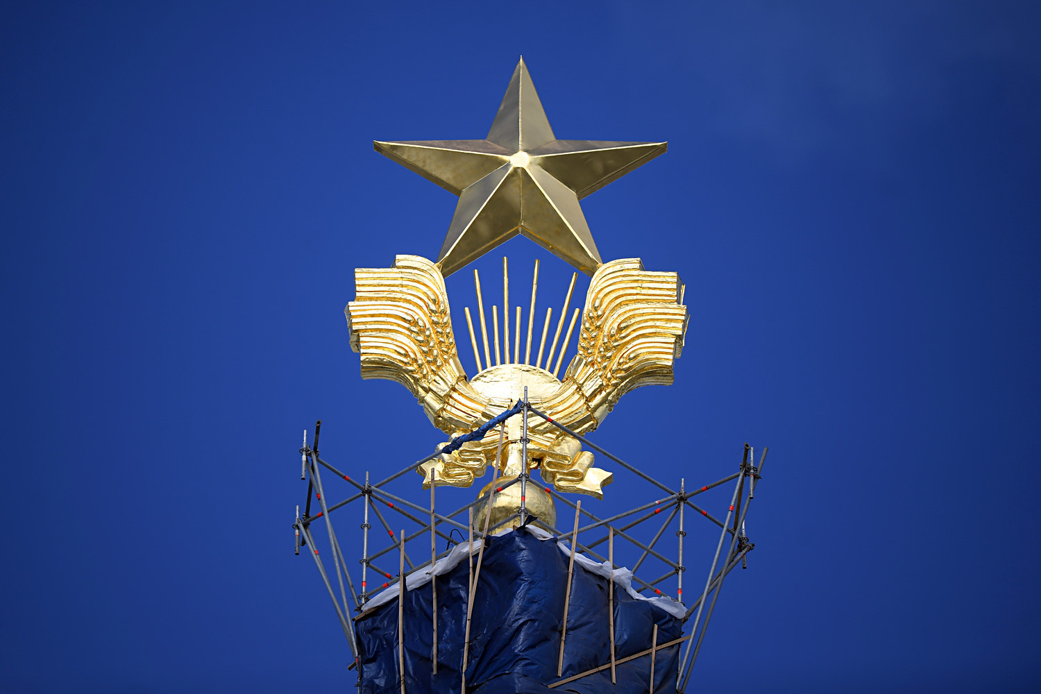 Star of VDNKh main pavilion