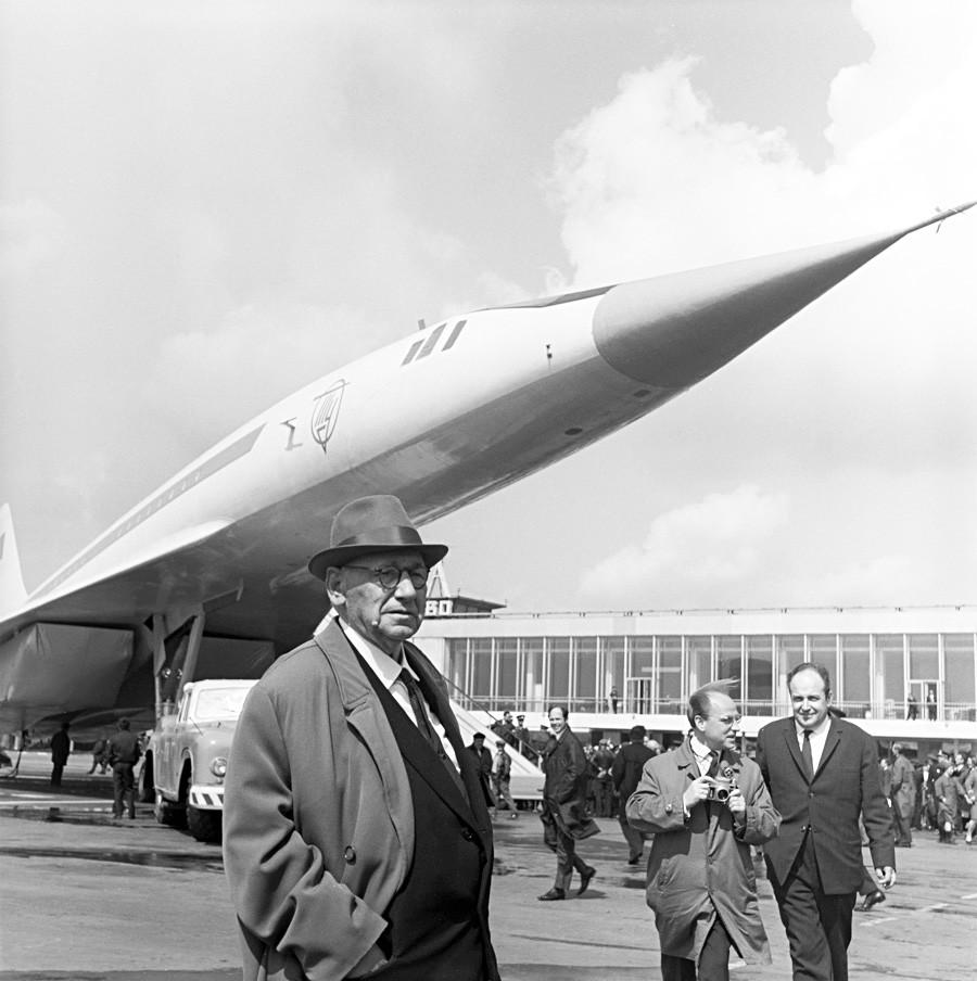 L'ingegnere e progettista Andrej Tupolev