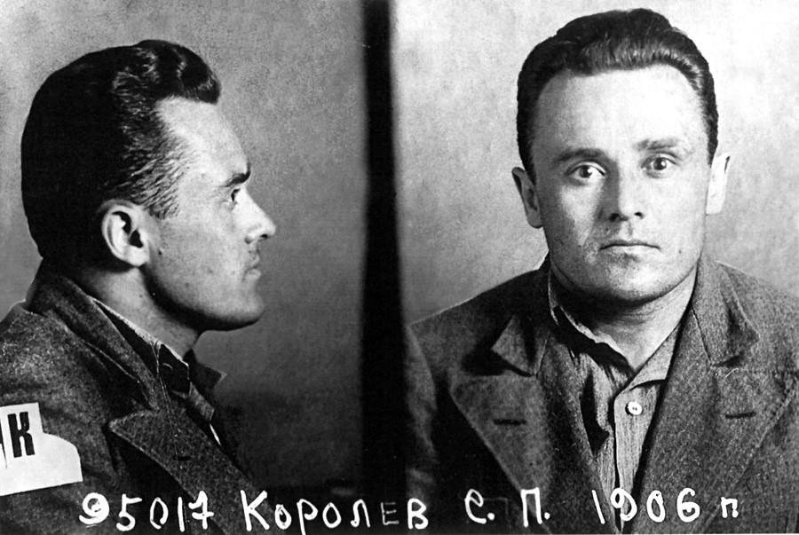 La prima foto di Korolev scattata dopo l'arresto