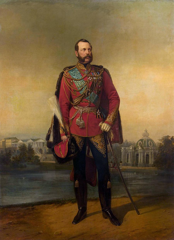 Portrait d'Alexandre II par Egor Botman