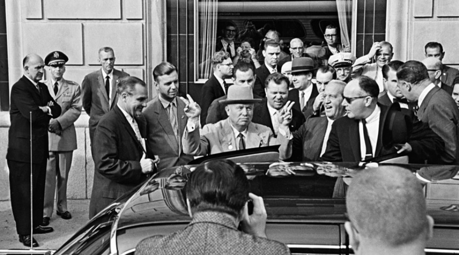 Uradni obisk sovjetske vlade v ZDA. New York, september 1959.