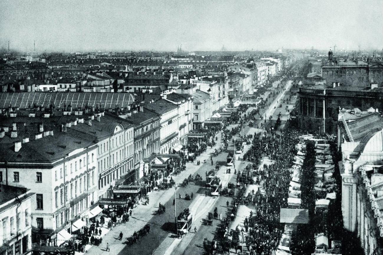 Nevsky Prospekt.