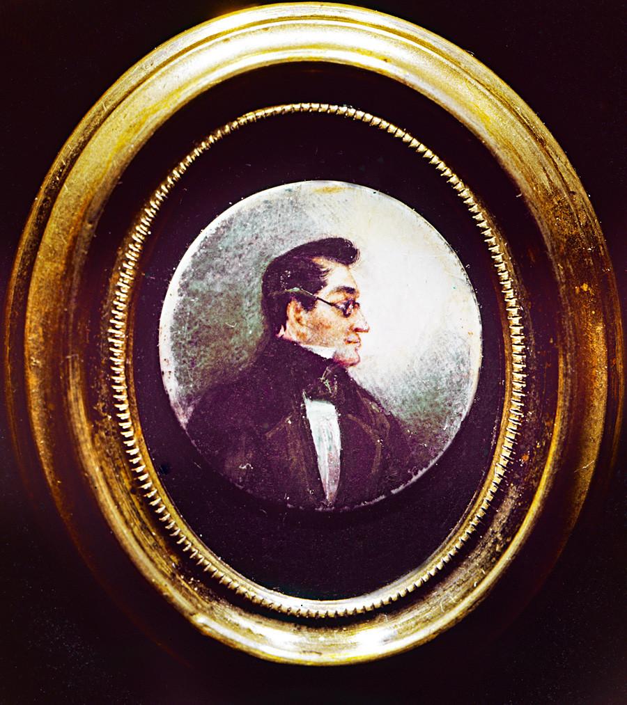 Potret Aleksandr Griboyedov.