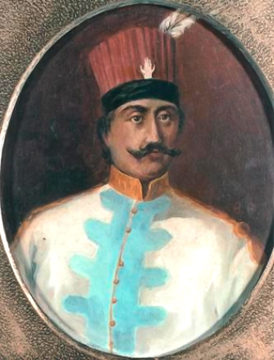 Lambros Kaconis je također bio junak rusko-turskih ratova.