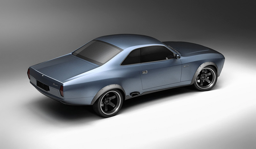 Volga muscle car concept