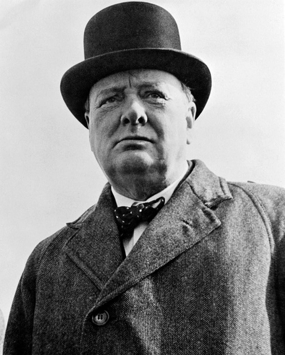 Винстон Черчил  во 1942 година.