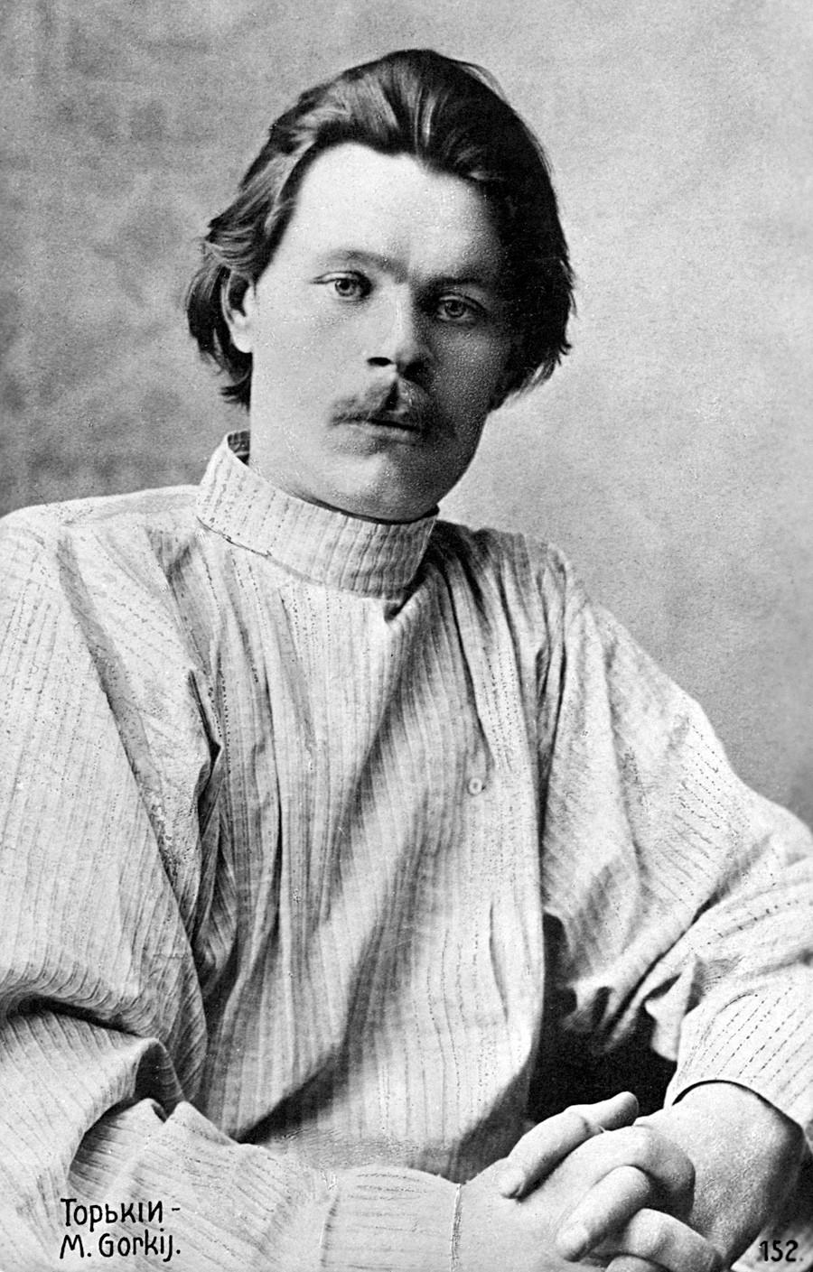 Maxim Gorki im Jahr 1907