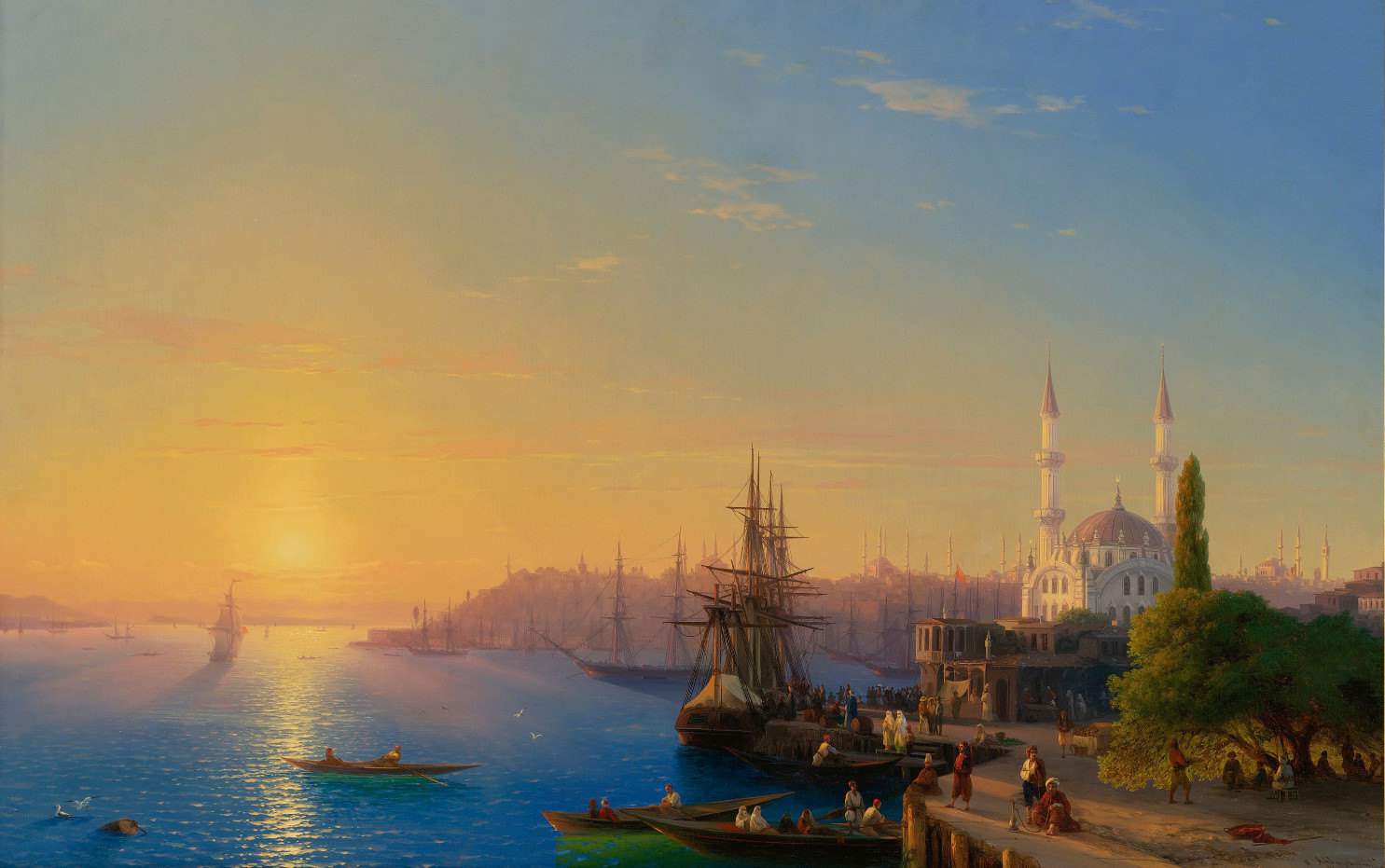 The View of Constantinople and the Bosphorus