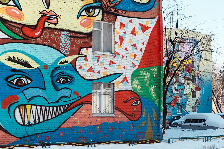 Babushkinskaya apartment blocks