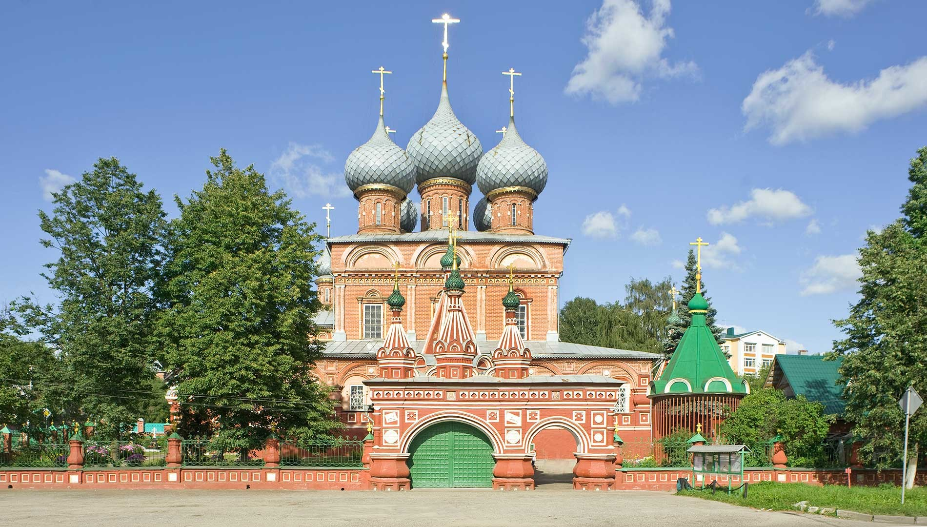 Kostroma. Church of the Resurrection
