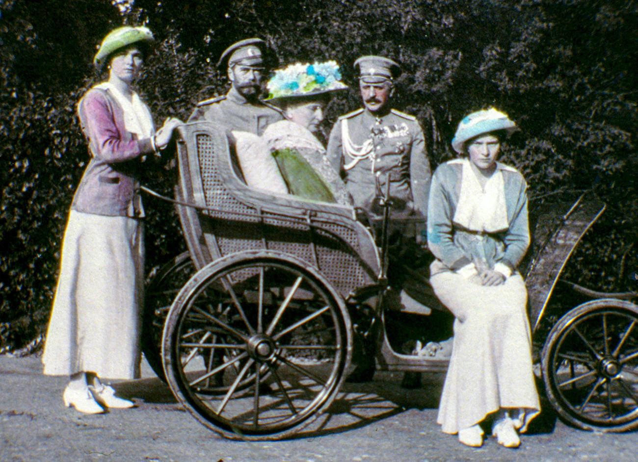Keluarga Tsar Nikolay II.