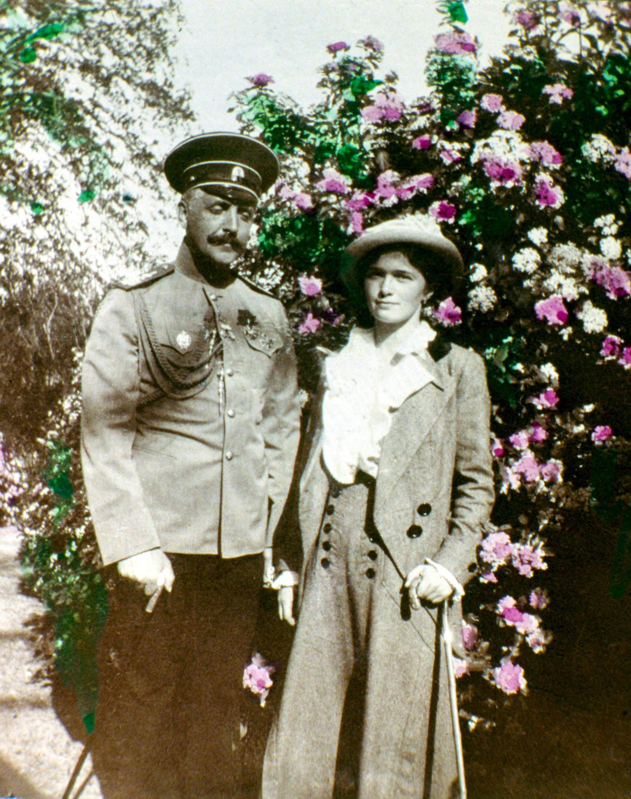 Olga dan Nikolai Sablin.
