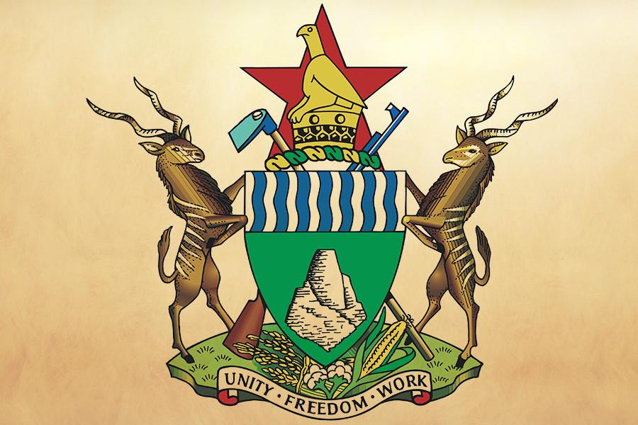 Гербът на Зимбабве