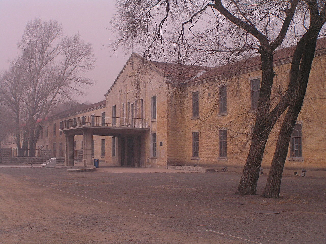 Zgradba oddelka za biološko orožje pod okriljem