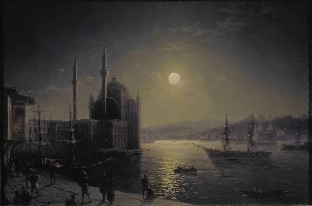 『月明かりのボスポラス海峡』