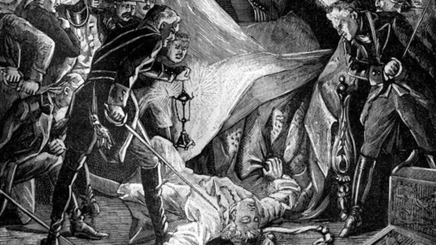 Pembunuhan Tsar Rusia Pavel I, Maret 1801 (1882 – 1884).