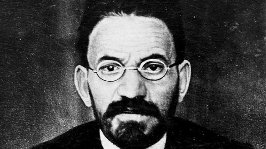Menachem Mendel Beilis (1874 - 1934), who became a living symbol of the Anti-Semitism in the Russian Empire after being held arrested for two years and tried for a crime he didn't commit.