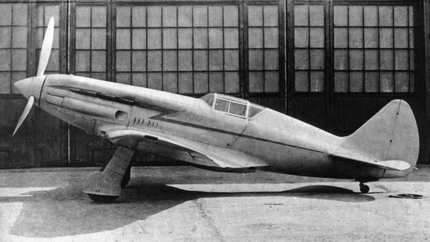 Primer prototipo de I-200 (MiG-1), primavera de 1940.