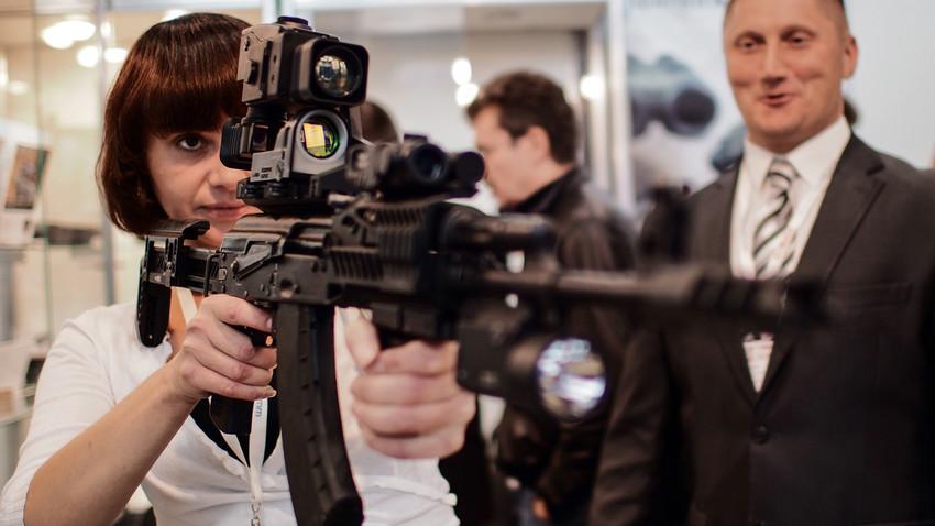 Fusil AK-103.