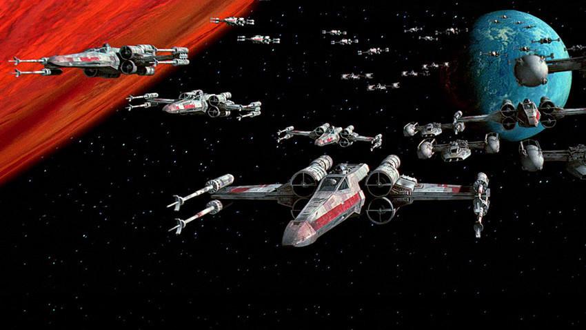 """""""Sвездени војни"""", 4-та епизода """"Нова надеж"""", Џорџ Лукас, 1977."""