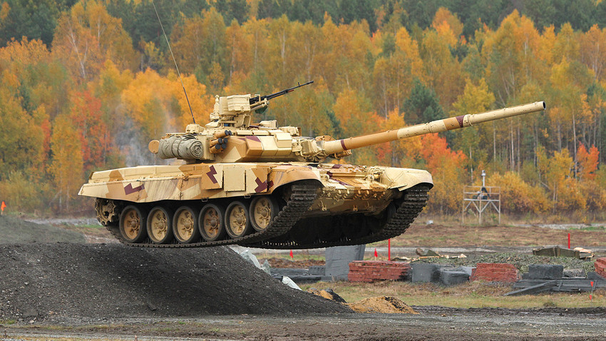 Pimp my ride: How Russia blinged up the T-90 tank - Russia Beyond