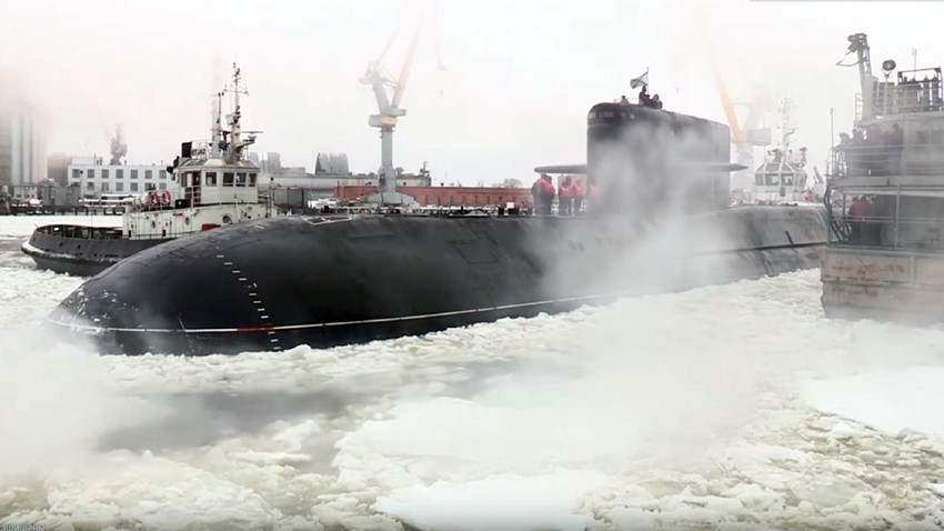 """Нуклеарната подморница """"Подмосковје"""""""