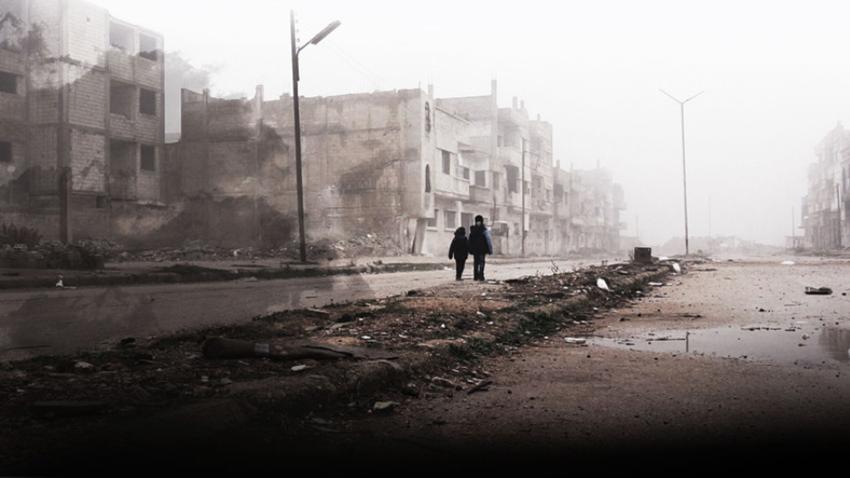 Odraščanje z vojno: Otroci v Siriji