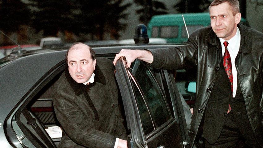 ボリス・ベレゾフスキー、1999年