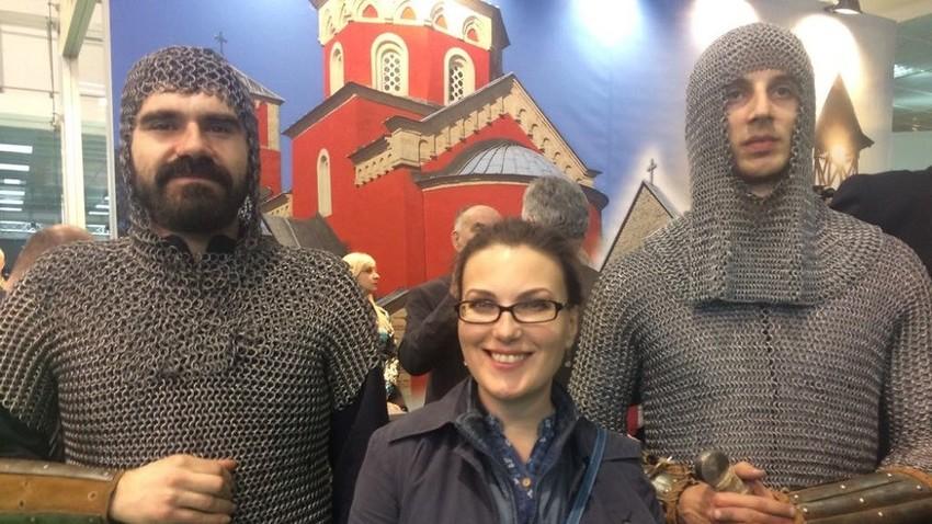 Катарина Лане и српски витезови