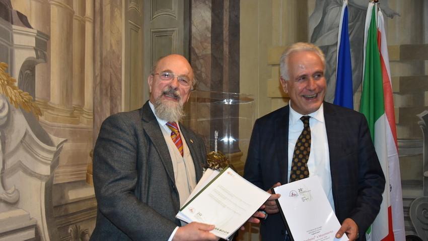 L'incontro tra i rappresentanti della biblioteca di Mosca e della fondazione fiorentina