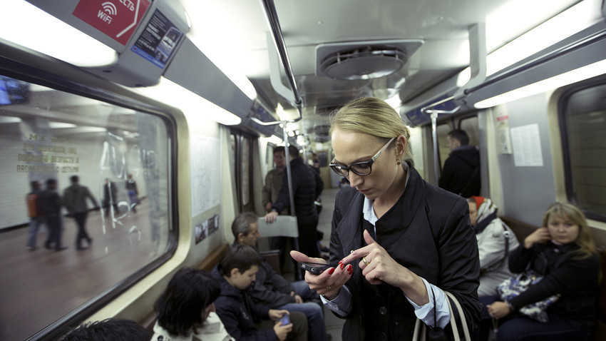 A Russian programmer who discovered the vulnerability in the Moscow metro WiFi, developed a program that allows for tracking anybody traveling underground.