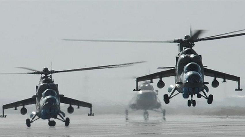 Helikopterji Mi-35.