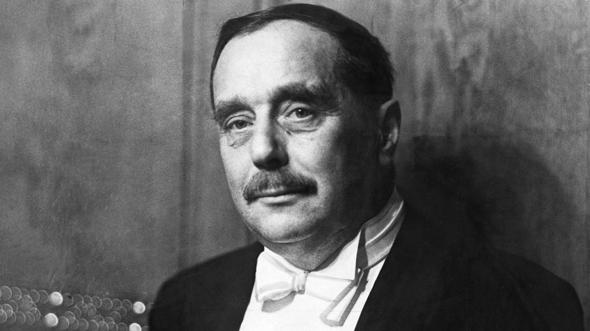 H.G. Wells visited Russia three times in the course of two decades