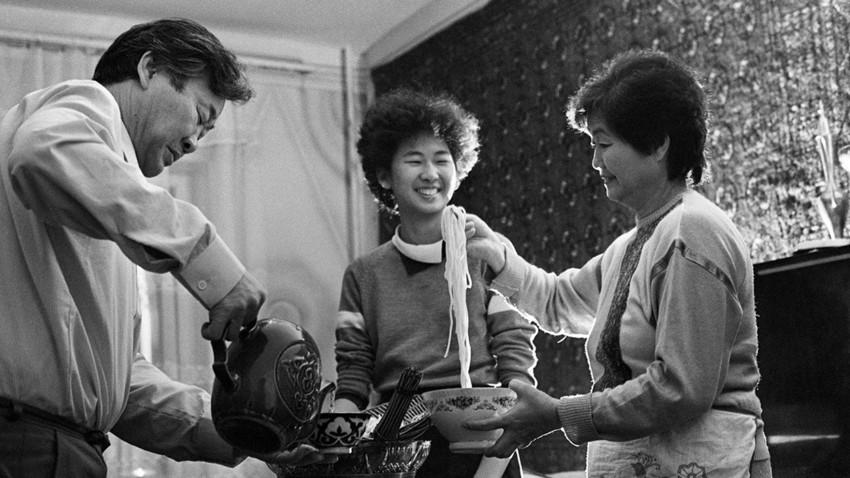 Orang Korea Sakhalin telah mengembangkan kombinasi masakan yang unik.