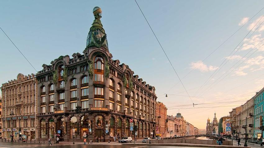 Singer-Firmengebäude in Sankt Petersburg