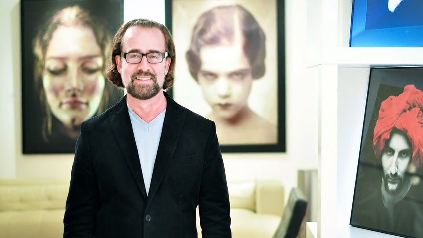 Alexandre Gertsman is now a commercially successful art dealer, but the decision to move to the U.S. was made out of desperation.
