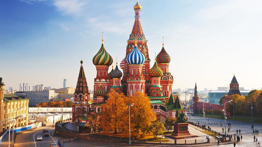 La Catedral de San Basilio es uno de los iconos más reconocibles de Rusia.