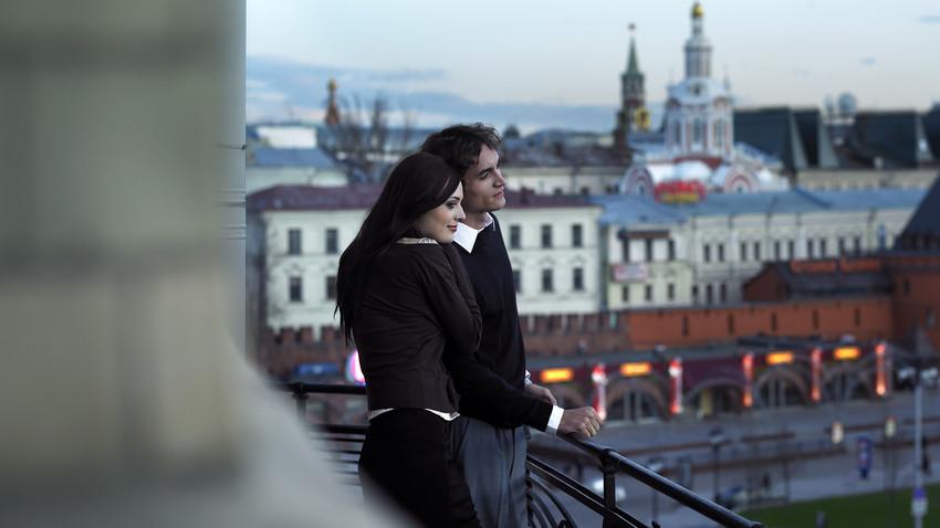 Atardecer en Moscú