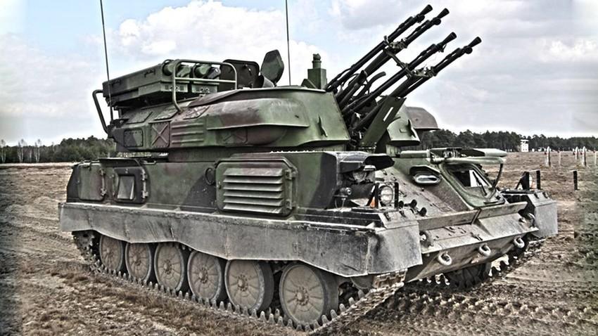 """ZSU-23-4 """"Šilka"""""""