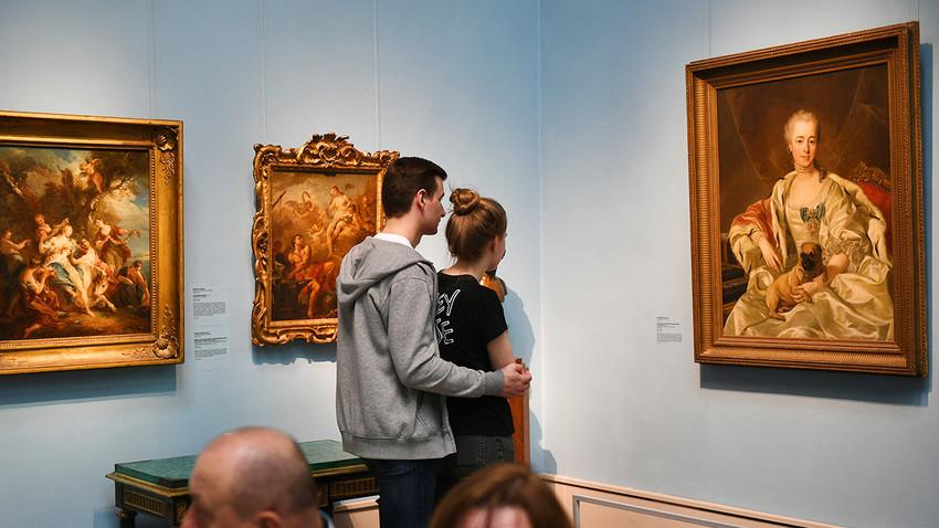 Museum Pushkin didirikan sebagai lembaga pendidikan dan pelatihan bagi para seniman dan mahasiswa seni.
