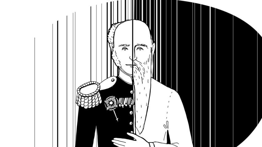 Alexander I diyakini masih hidup selama puluhan tahun setelah kematian resminya, hidup di balik samaran di Siberia.