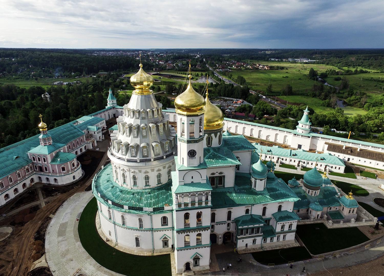 монастырь новый иерусалим подмосковье истра фото непосредственное участие