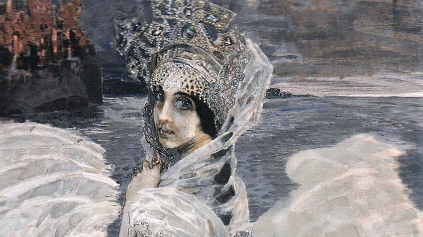 La Princesse cygne par Mikhaïl Vroubel