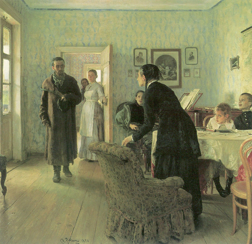 Visiteur inattendu par Ilya Repine