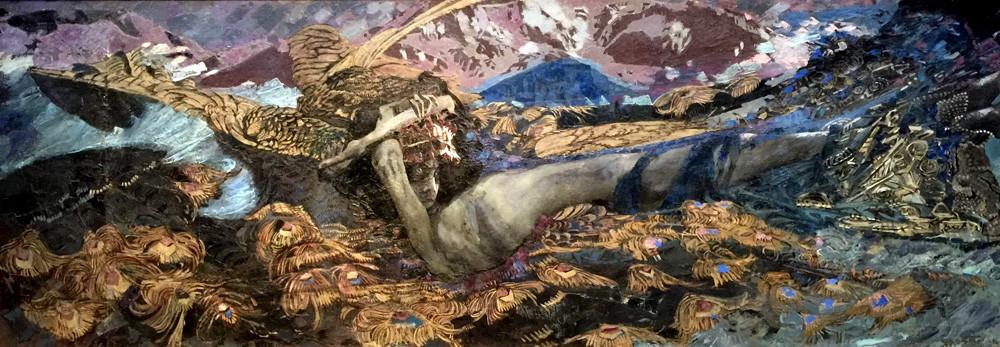 Démon déchu par Mikhaïl Vroubel