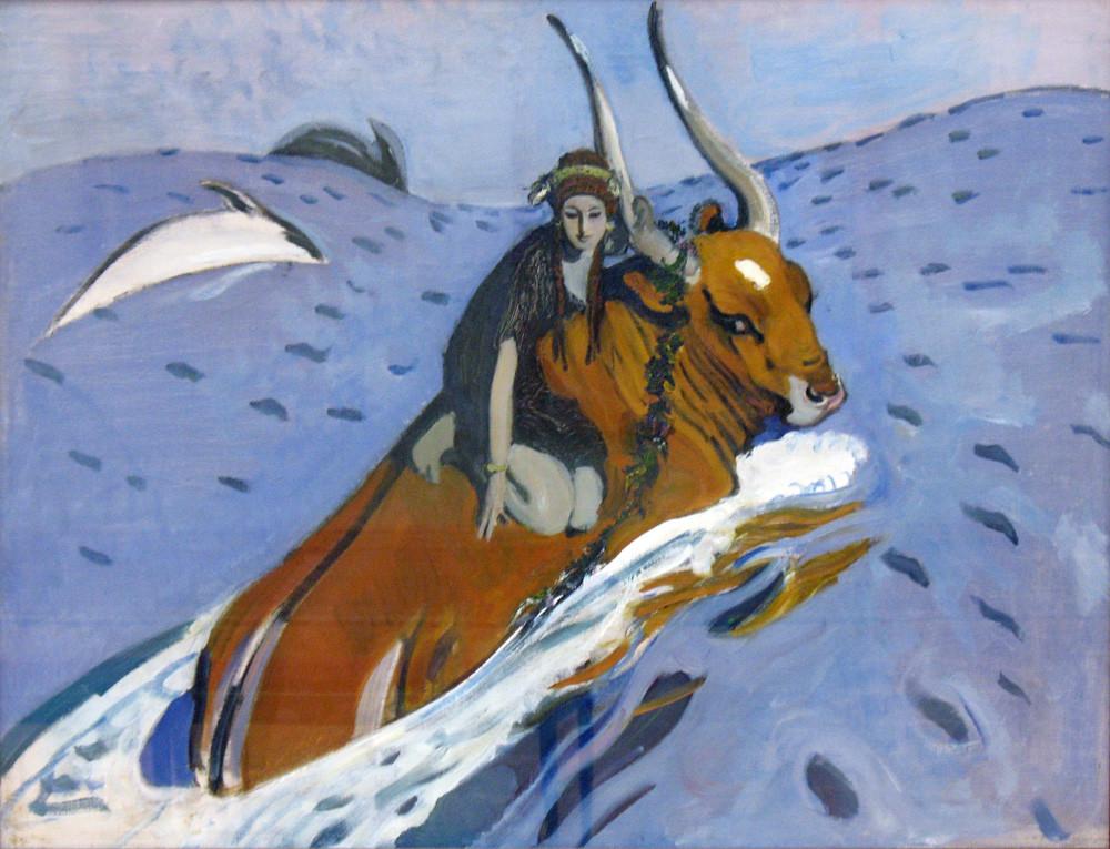 L'Enlèvement d'Europe par Valentin Serov
